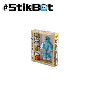 Stikbot Single transl light blue